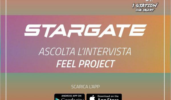 "Gianpiero Xp interviews ""FEEL PROJECT"" on STARGATE ! 1 Station Radio"