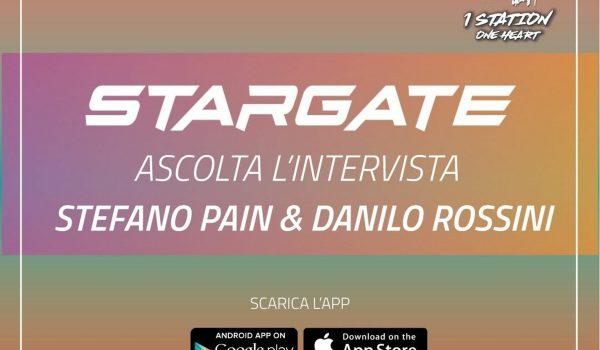 """Gianpiero interviews """"PAIN & ROSSINI"""" on 1 Station Radio in STARGATE !"""